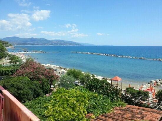 Hotel La Vela: panorama dalla stanza dell'albergo