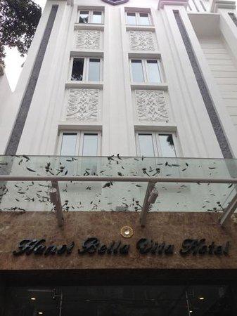Hanoi Bella Vita Hotel: Bella Vita Hotel - front view