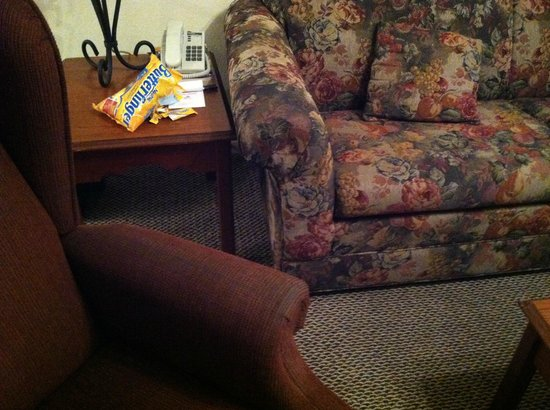 Grand Crowne Resort: Furniture is old and nasty!