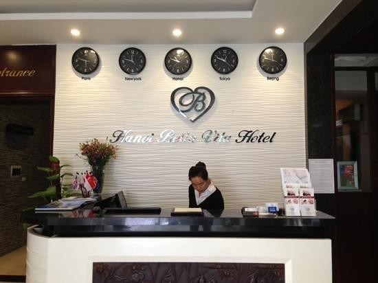 Hanoi Bella Vita Hotel: Bella Vita Hotel - reception