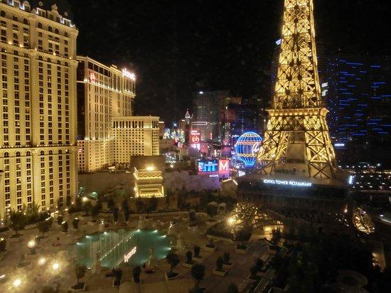 ปารีสลาสเวกัสโฮเต็ล: night view
