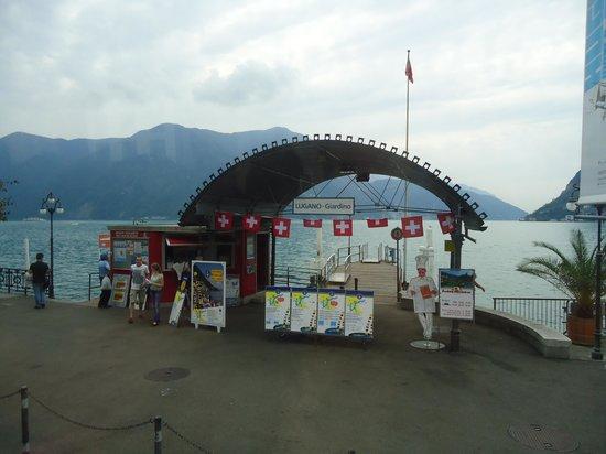 Lake Lugano: Embarcadouro