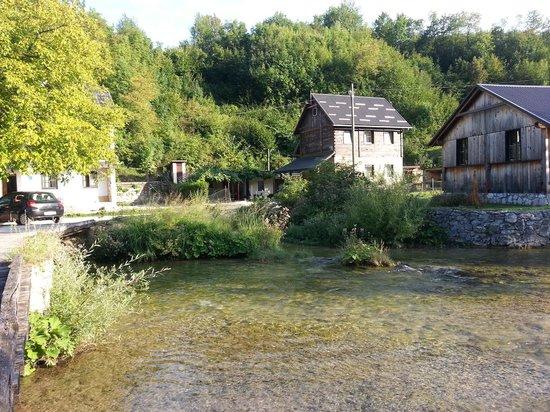 San Korana: River running through Korana Village