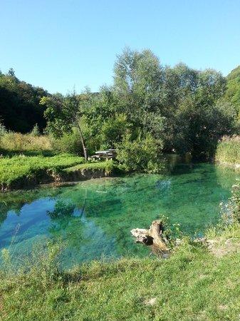 San Korana: Crystal clear Korana River