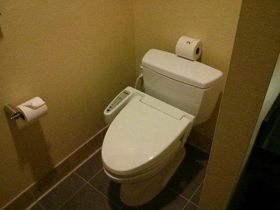 Miyako Hybrid Hotel: ウォシュレット付きトイレ