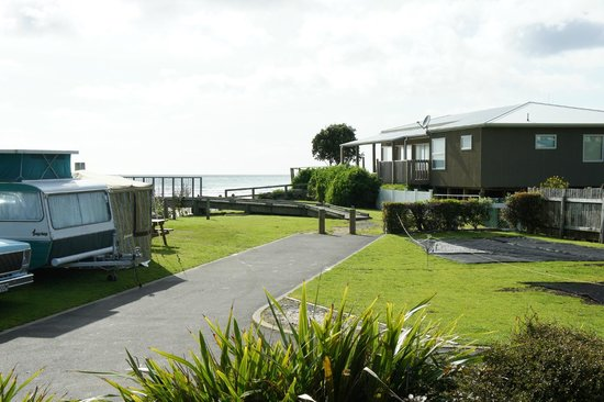 Waihi Beach Top 10 Holiday Resort: Seaview from our deck