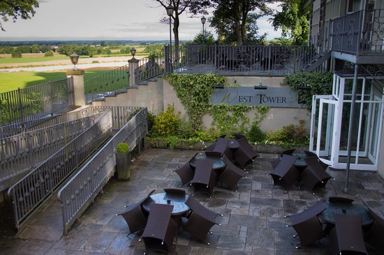 West Tower Country House Hotel : Wonderful gathering area