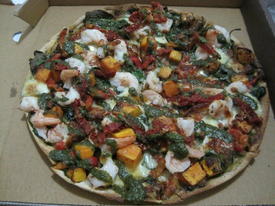 Delicious pizza from Base
