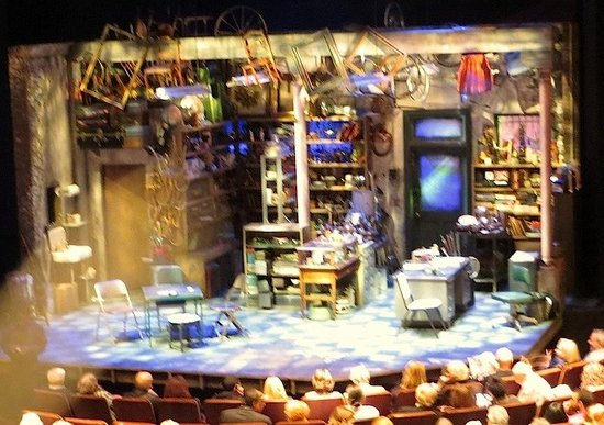 Geffen Playhouse: the set of American Buffalo