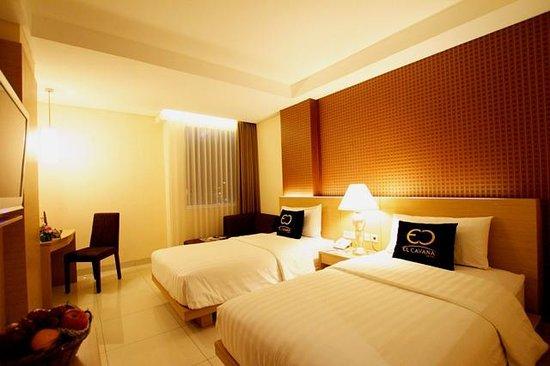 El Cavana Hotel: Superior twin bed