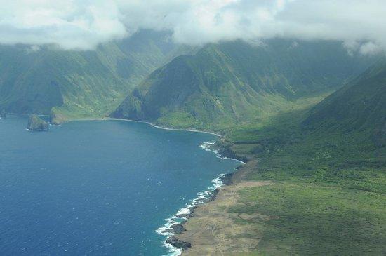 Na Pali Coast: Aerial View