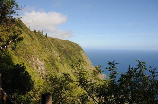 Na Pali Coast : View from Kalaupapa Trail (looking down)