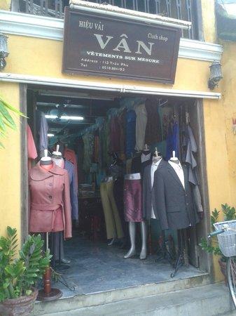 Van Cloth Shop : magasin van