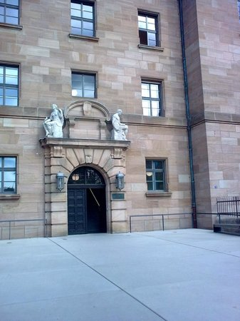 Nuremburg Trial Courthouse: Courthouse entrance