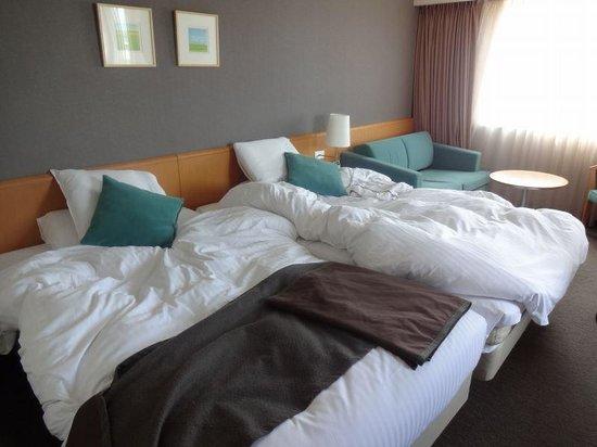 Richmond Hotel Obihiro-ekimae: ハリウッドツインの部屋です。