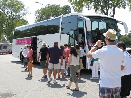 Carrani Tours: Our luxury bus and travelling companions