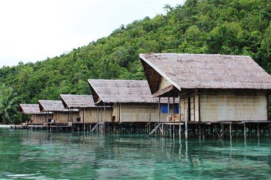 Raja Ampat Doberai Eco Resort: the resort