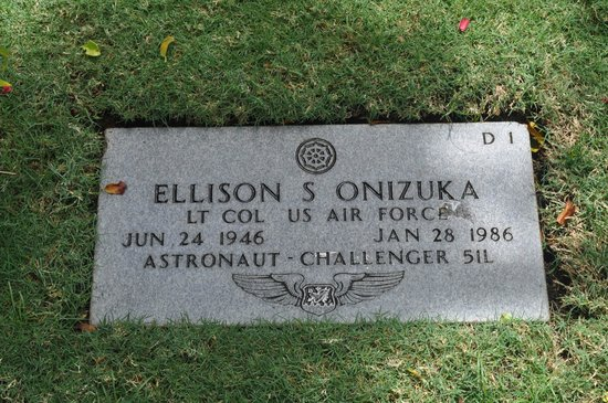National Memorial Cemetery of the Pacific: Ellison Onizuka, Astronaut On NASA Challenger Accident