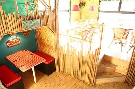 Kontiki Slottsskogen: 3 km of bamboo