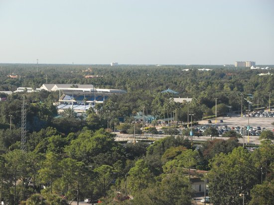 Doubletree by Hilton Orlando at SeaWorld: View from 15th floor