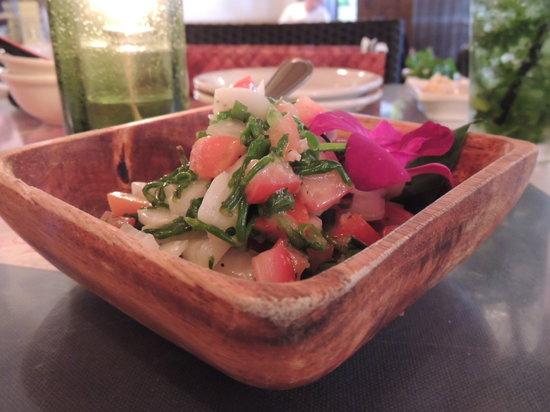 Aloha Table Waikiki: シーアスパラのサラダ 美味いです!