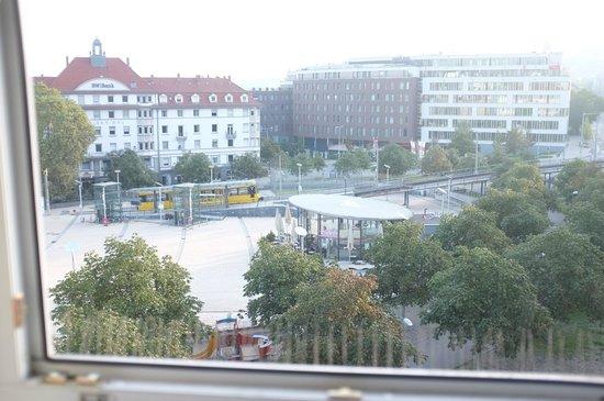 Ibis Stuttgart Centrum: Blick auf den Marienplatz