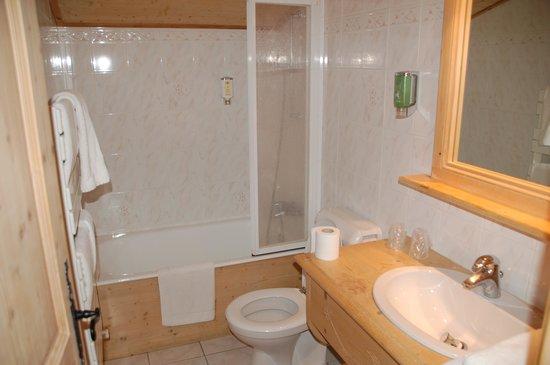 Hotel Neige et Roc : bathroom
