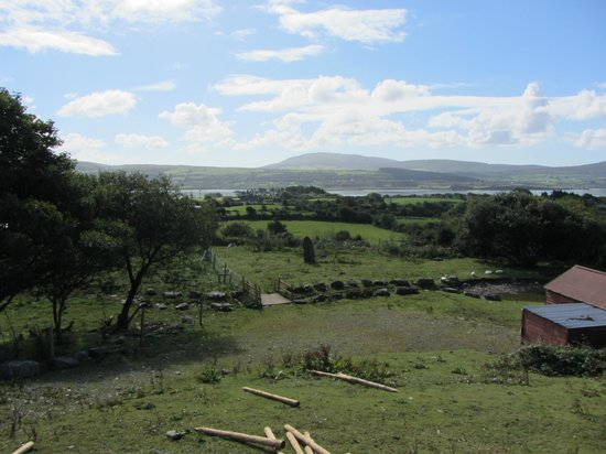 Carbery Cottage Guest Lodge: View from the B&B