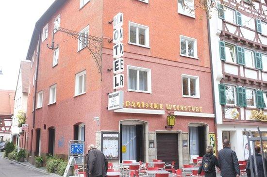 Hotel Anker Spanische Weinstube: Hotel Anker mit Spanischer Weinstube