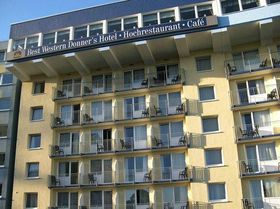 BEST WESTERN Donner's Hotel & Spa: Aussenansicht