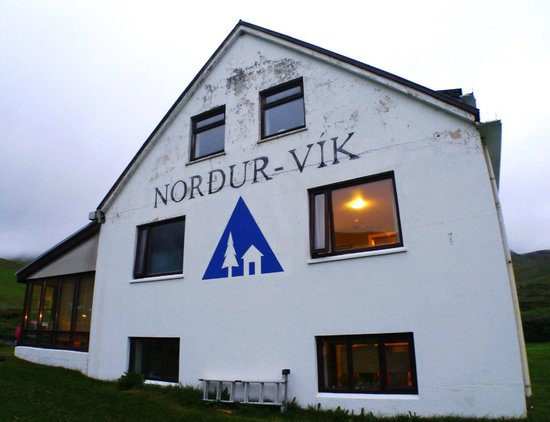 "Vik HI hostel: it's also named ""Nordur-Vik"""