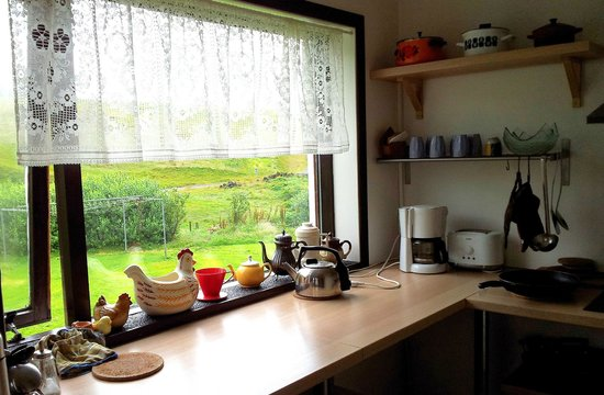 Vik HI hostel: fully equipped and clean kitchen
