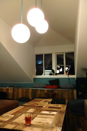 Loft Hostel: cool common area
