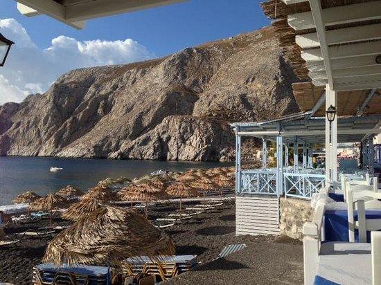 Poseidon Restaurant: udsigt