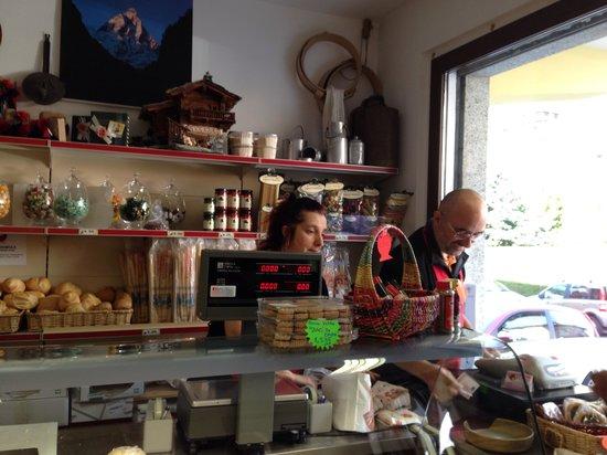 Chatillon, Italia: Il negozietto