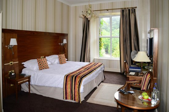 Tre-Ysgawen Hall, Country House Hotel and Spa: Deluxe Bedroom