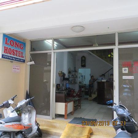 Entrance of Long Hostel
