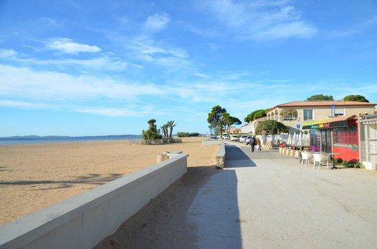 Hotel - Restaurant Le Ceinturon : Strand, 50 Meter vom Hotel