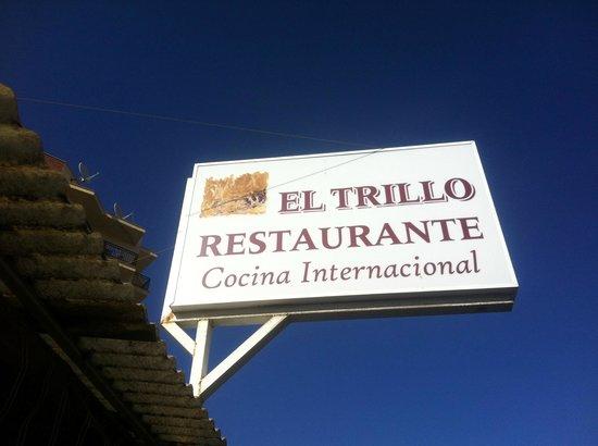 Restaurante El Trillo de Torremolinos: El Trillo - signage