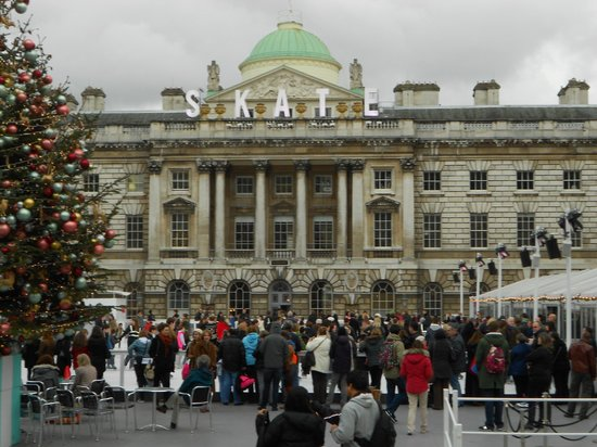 Somerset House Ice Rink : Somerset House Seasonal Ice Rink