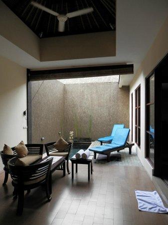 Ashoka Tree Resort Ubud : lounge area