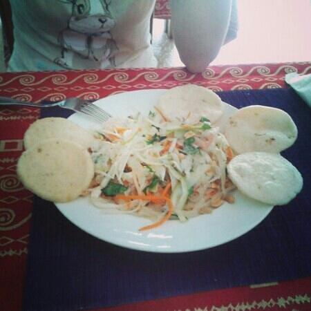 Sea Breeze Restaurant : sea food salad