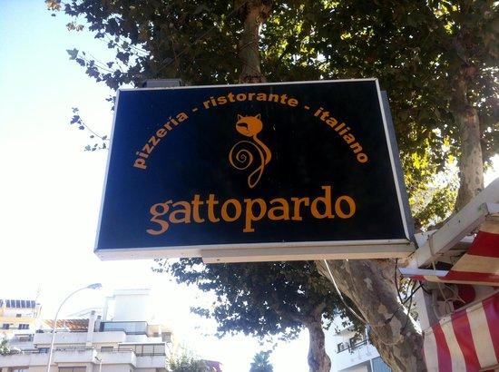 Gattopardo - signage