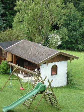 Pension Irlingerhof: Schnucki als Wachposten
