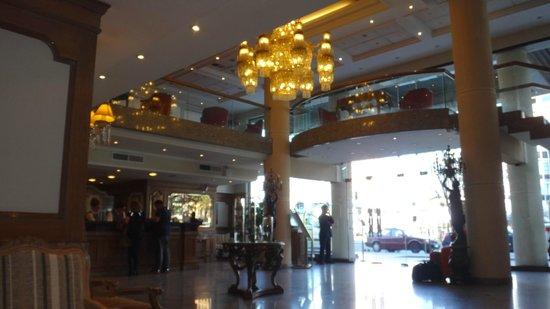 Hotel Regal Pacific: Recepção do Hotel.