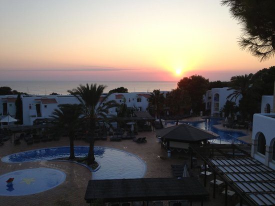 Insotel Tarida Beach Sensatori Resort: Vista dalla nostra stanza