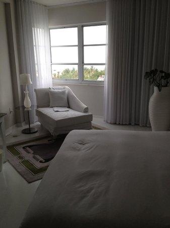 Delano South Beach Hotel: notre chambre