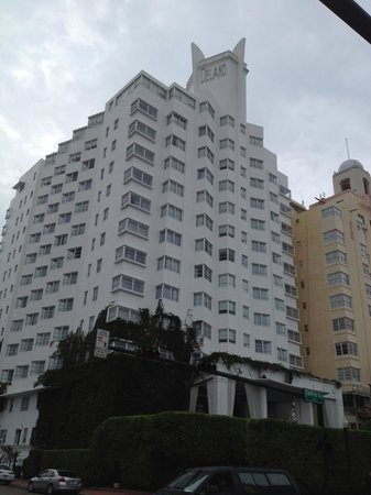 Delano South Beach Hotel: vue de l'hotel