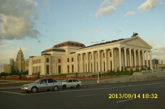 Astana Allee: Астана-Опера (большой театр)