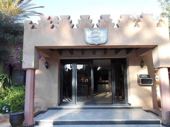 Hotel Ouarzazate Le Riad : 玄関